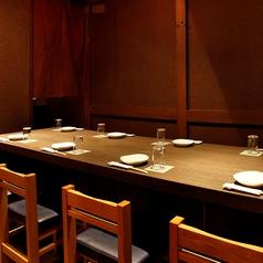 8名様 テーブル席 他のお客様と離れた席