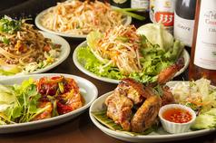 タイ ベトナムレストラン クロープクルアのコース写真