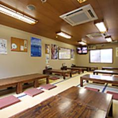 広々としたお座敷席はご宴会におすすめ!富山名物を味わうご宴会をお楽しみ下さい。歓送迎会などにもご利用可。