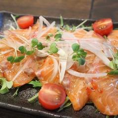鮮魚のカルパッチョ/生ハムシーザーサラダ