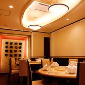 個室では豪華な中華式円卓を取り囲んで♪接待、歓迎会、送別会等にも人気!