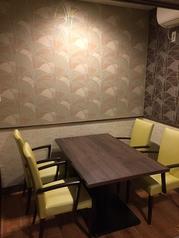 接待や会社宴会にもぴったりな完全個室もご用意しております!