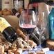 シェフが厳選したワインの数々。