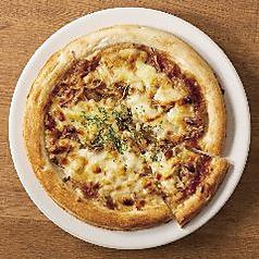 手造りつくねの照り焼きピザ