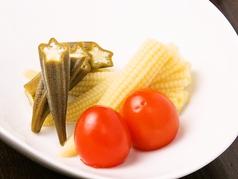 料理メニュー写真自家製ピクルス