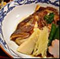 料理メニュー写真鯛かぶと煮
