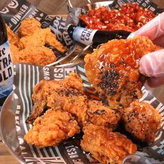 Kimbab&Chicken ウリシクタンのコース写真