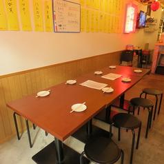 6名から8名様までご利用いたでけるテーブル席です!会社のプチ宴会や、女子会などに使えます★