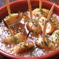 料理メニュー写真マッシュルームのアヒージョ