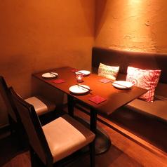 一番人気の個室は、デートやお食事に…