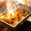 料理メニュー写真丹波地鶏炭火焼き