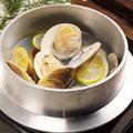 料理メニュー写真浅利と蛤の酒蒸し