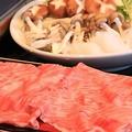 料理メニュー写真すき焼き・しゃぶしゃぶ(大田原牛)