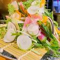 料理メニュー写真福岡有機野菜のサラダ