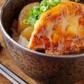 料理メニュー写真自家製!和タレのフォアグラ丼