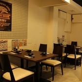 ≪1階:テーブル席≫1~22名様まで着席頂けるテーブル席。2~4名様までのテーブル席が5卓と2名様までのテーブルが1卓。デート・飲み会・宴会にご利用下さい。