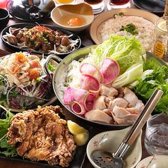 日本酒と地鶏 八兵衛のコース写真