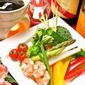 料理メニュー写真野菜ソムリエ厳選!黒ゴマのバーニャカウダ