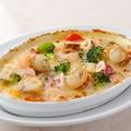 料理メニュー写真魚介とたっぷり野菜のドリア