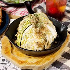 料理メニュー写真アンチョビキャベツのオーブン焼き