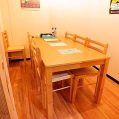5名様~ご利用可能の個室席※感染症拡大対策の為お席の間隔を空けておりますのでご了承下さい