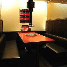 個室感覚のBOX席
