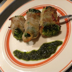 料理メニュー写真仙台小ねぎの肉巻き