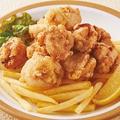 料理メニュー写真メガ盛り!鶏の唐揚げ 各種(醤油味 / 塩麹味)
