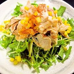 阿波豚温しゃぶのせサラダ