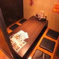 様々なシーンに使える個室完備!