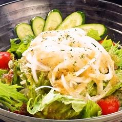 料理メニュー写真あっさりグリーンサラダ