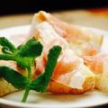 料理メニュー写真生ハムチーズトースト
