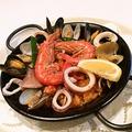 料理メニュー写真魚貝のパエリア