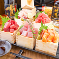 料理メニュー写真海鮮山枡盛り1円!!毎日限定10食!!