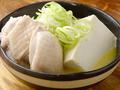料理メニュー写真鶏出汁豆腐