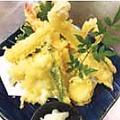 料理メニュー写真季節の天ぷら盛り合わせ