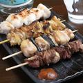 料理メニュー写真カシラ(頭肉) / タン(舌) / ハツ(心臓)/ レバー(肝臓) / シロ(大腸)