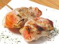 料理メニュー写真豚トマトしそ巻き