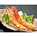 料理メニュー写真大海老の天ぷら