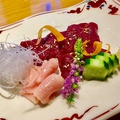 料理メニュー写真会津の馬刺し