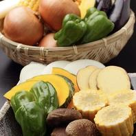 旬の野菜を厳選!焼肉で四季を感じることができます♪