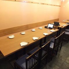 落ち着いた雰囲気で藁焼きの料理を楽しめる席♪2名様~最大30名様までOK!少人数でも大人数でもOK♪