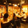 レトロな店内で美味しいお肉とお酒をお楽しみください。各種宴会でも是非ご利用ください。