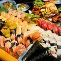 料理メニュー写真大人気♪食べ放題メニュー【お寿司(にぎり&手巻き寿司)】
