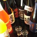 岩手や東北の地酒、焼酎が勢揃い!お得な飲み放題もあります