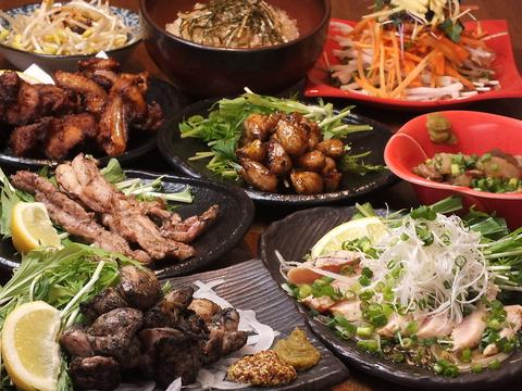 大山鶏を使った絶品鶏料理