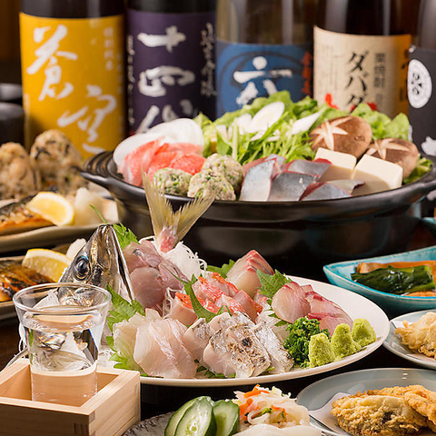 【浜松町・大門駅近くに構える和風居酒屋】相模湾直送鮮魚・日本酒を堪能