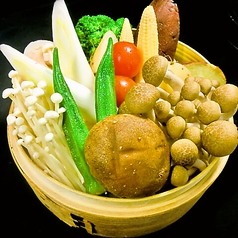 旬野菜のセイロ