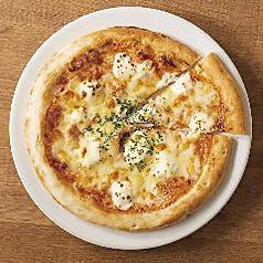しらすとクリームチーズの明太マヨピザ