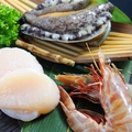 料理メニュー写真海鮮3種盛